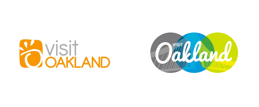 New Logo for Visit Oakland by CHWA