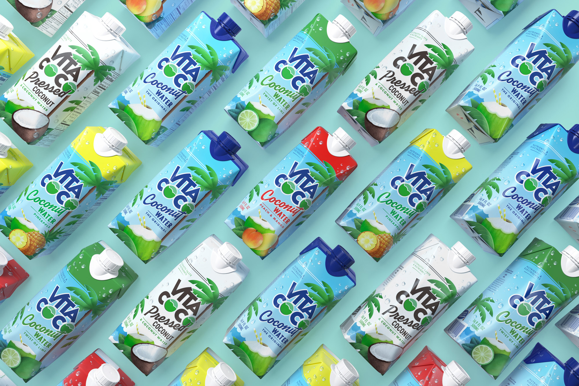 New Logo and Packaging for Vita Coco by Interesting Development