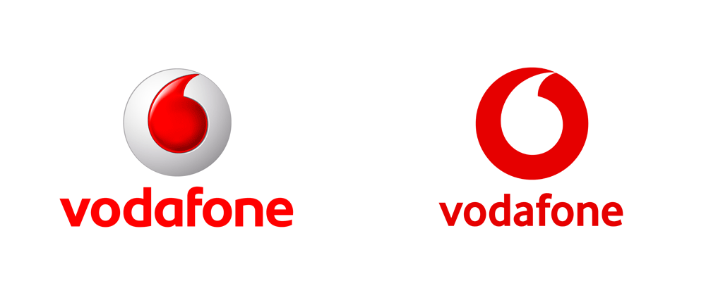 New Logo for Vodafone by Brand Union