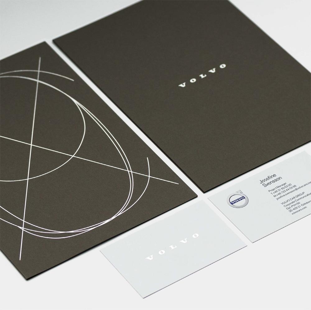 New Logo for Volvo by Stockholm Design Lab