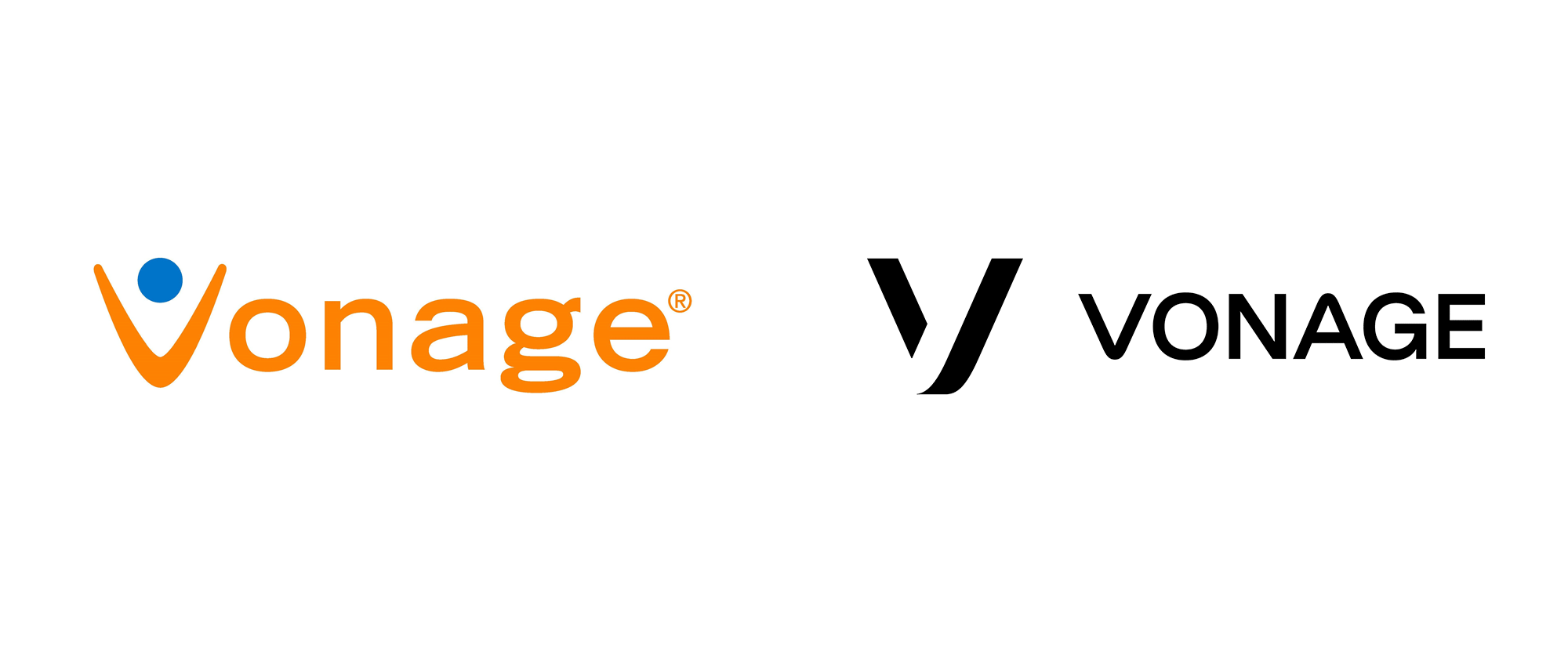 New Logo and Identity for Vonage by Wolff Olins