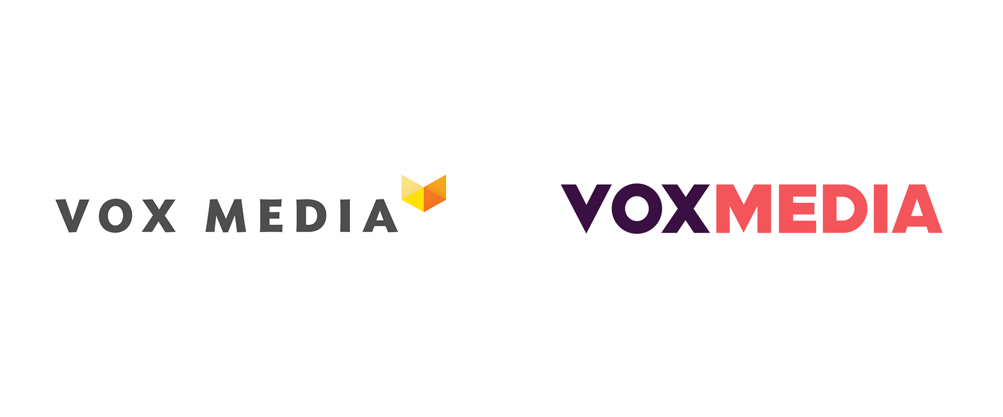New Logo for Vox Media by Triboro and In-house