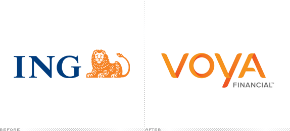 Voya Logo, Before and After
