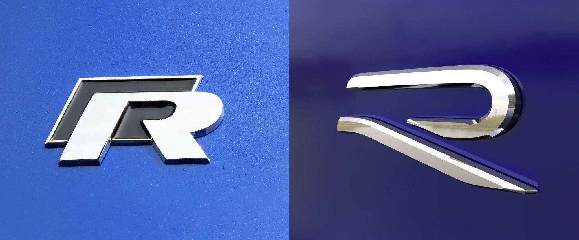 New Logo for Volkswagen R
