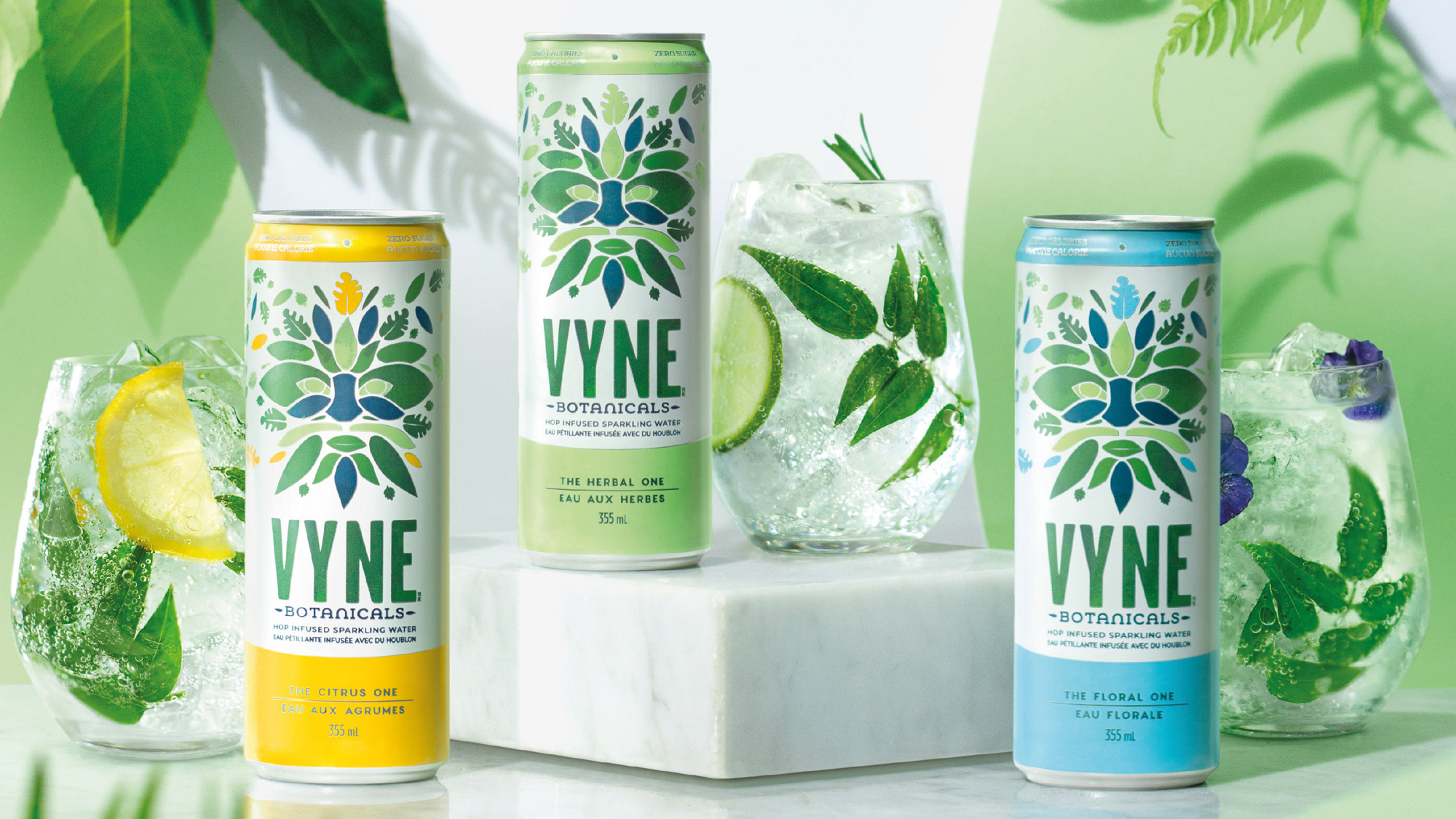 New Logo and Packaging for Vyne Botanicals by BrandOpus