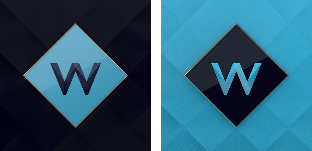 Brand New New Name Logo And On Air Look For W By Art Amp Graft