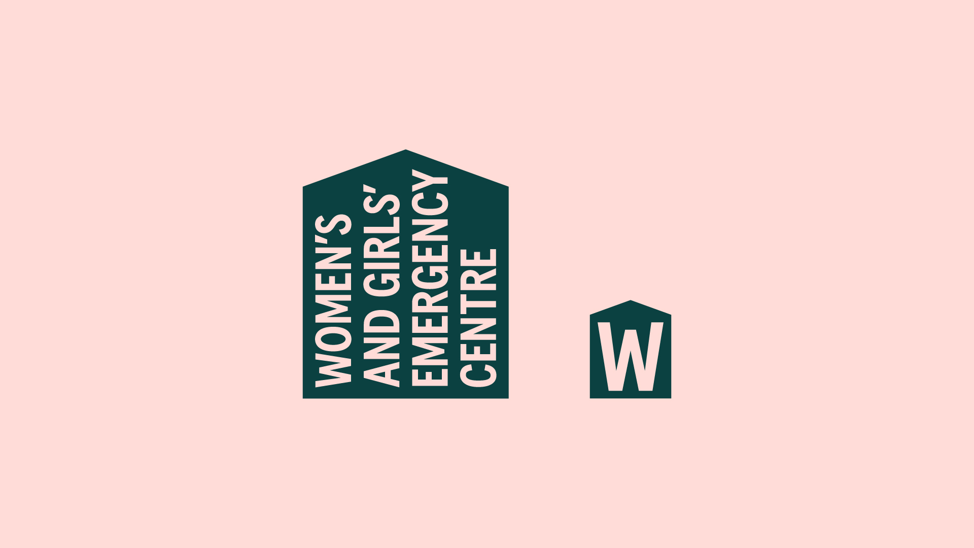 New Logo and Identity for Women's and Girls' Emergency Centre by For The People