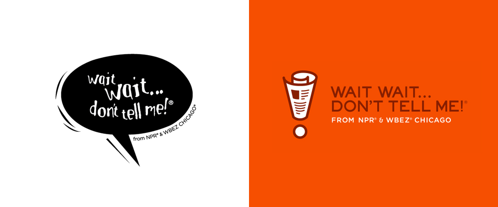 New Logo and Identity for Wait Wait... Don't Tell Me! by Michael Casebolt