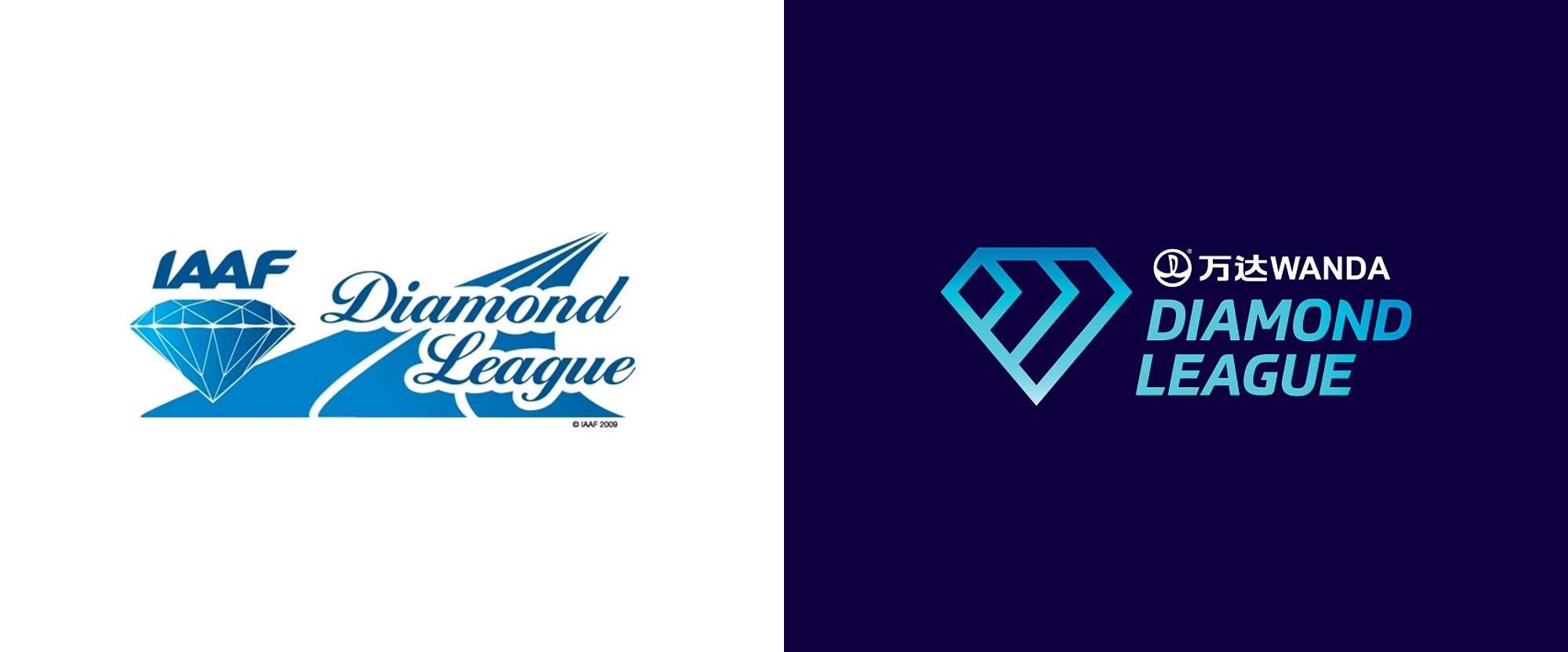 New Logo and Identity for Wanda Diamond League by Works