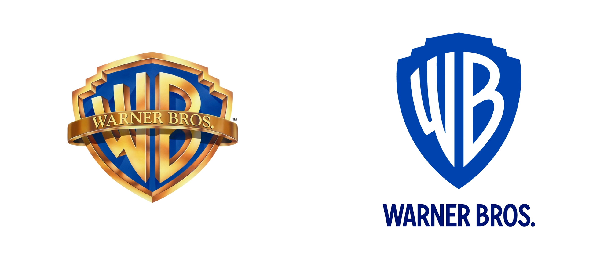 Brand New: New Logo and Identity for Warner Bros. by Pentagram