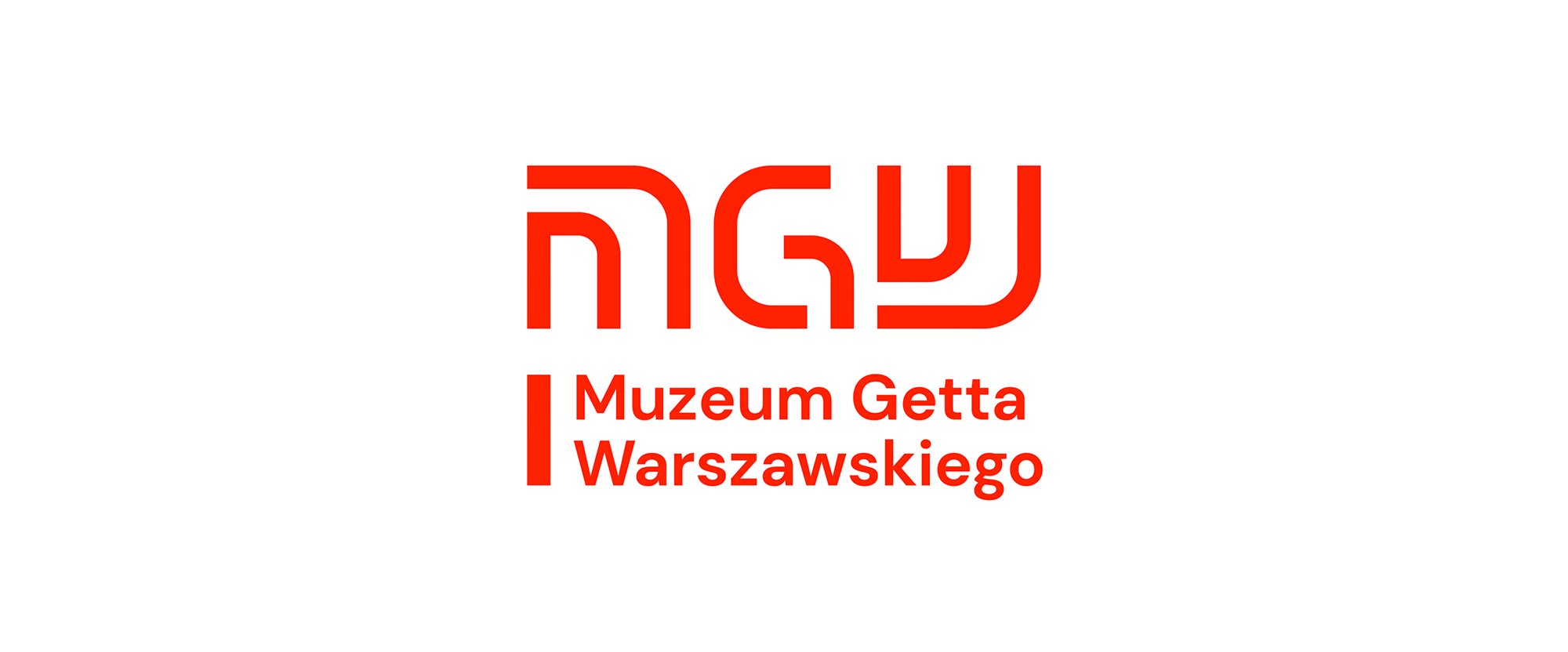 New Logo and Identity for Warsaw Ghetto Museum by DADADA studio