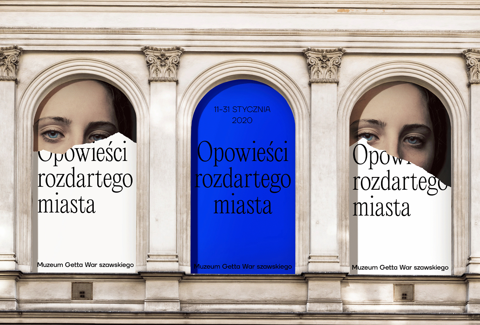 New Logo and Identity for Warsaw Ghetto Museum by Redkroft