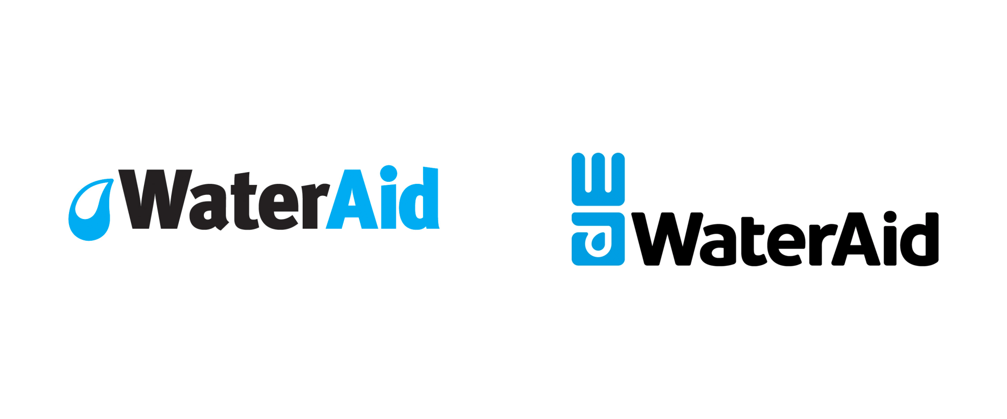 New Logo for WaterAid