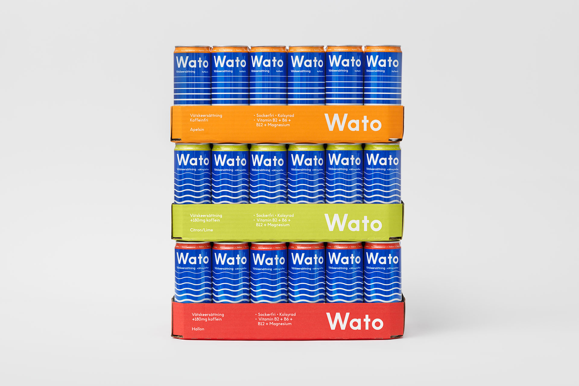 New Logo and Packaging for Wato by Essen International