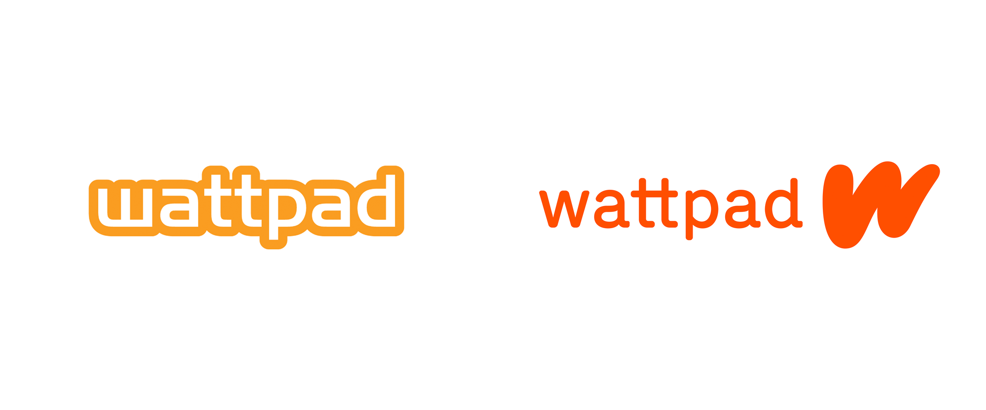New Logo and Identity for Wattpad