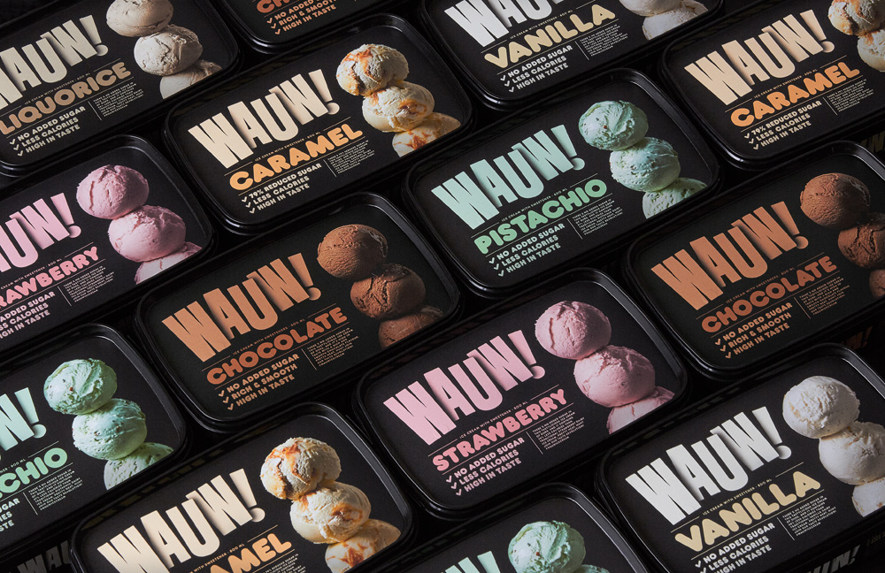 New Logo and Packaging for Wauw by Snask