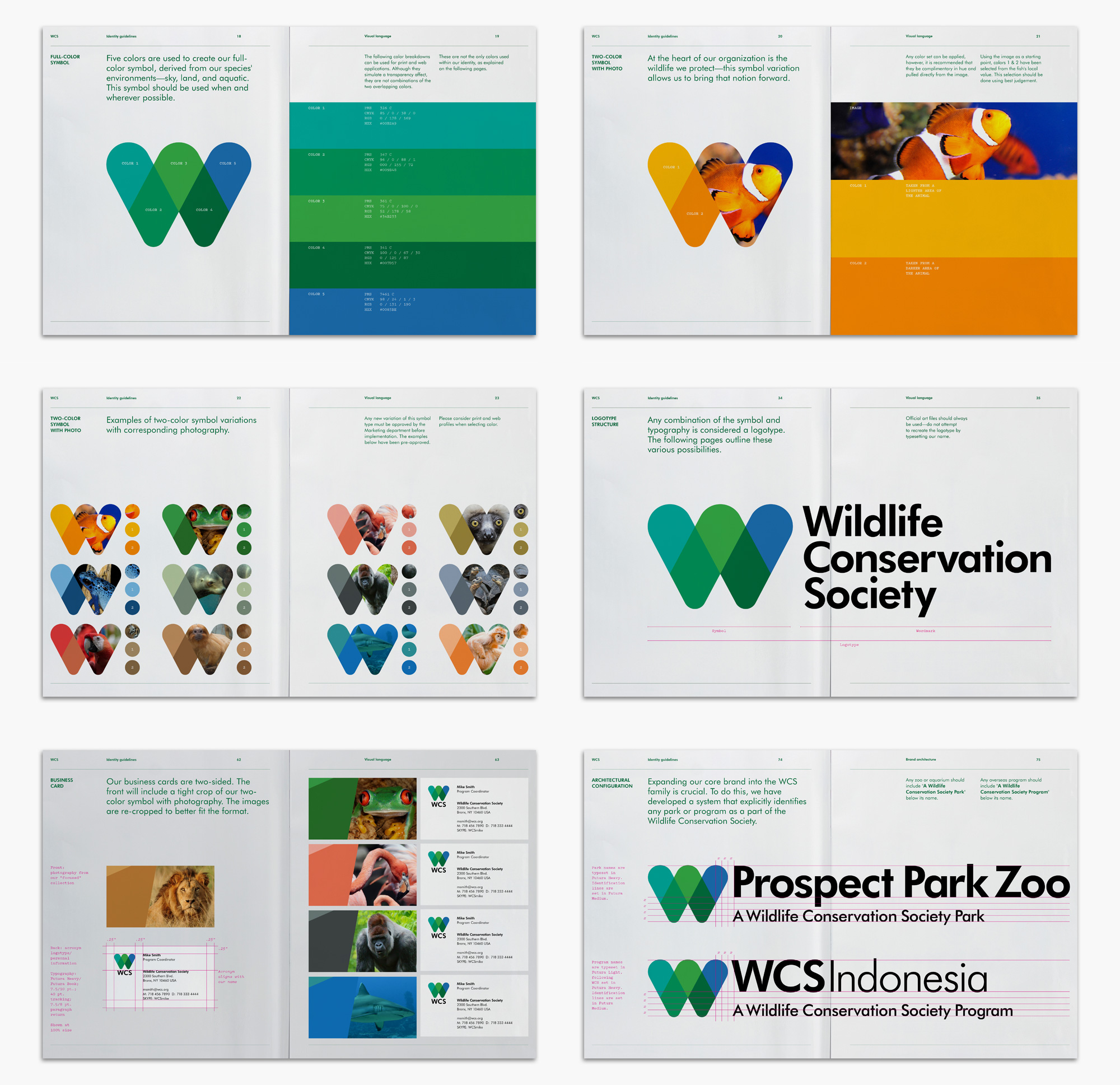 Brand New New Logo And Identity For Wildlife Conservation Society By Pentagram