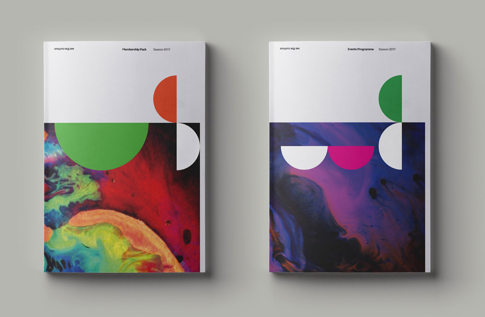 New Logo and Identity for We The Curious by Smith & Milton