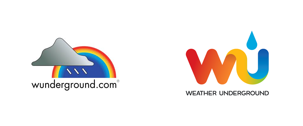 New Logo for Weather Underground