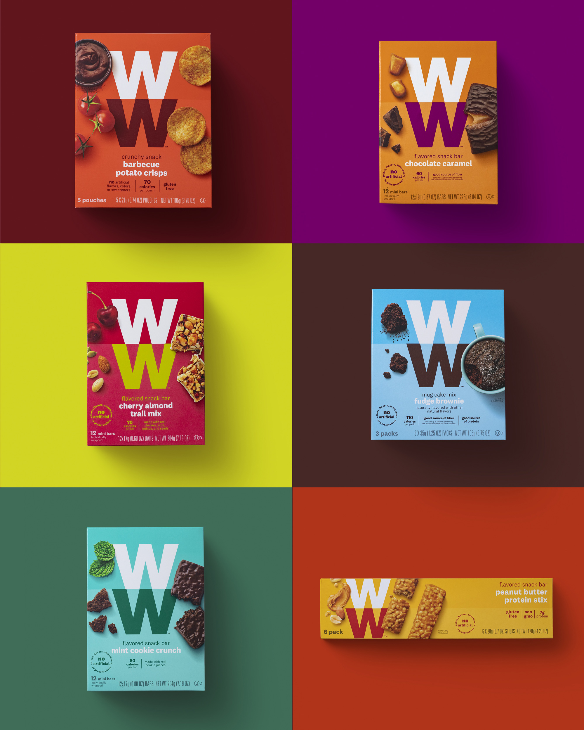 Packaging for WW by Pearlfisher