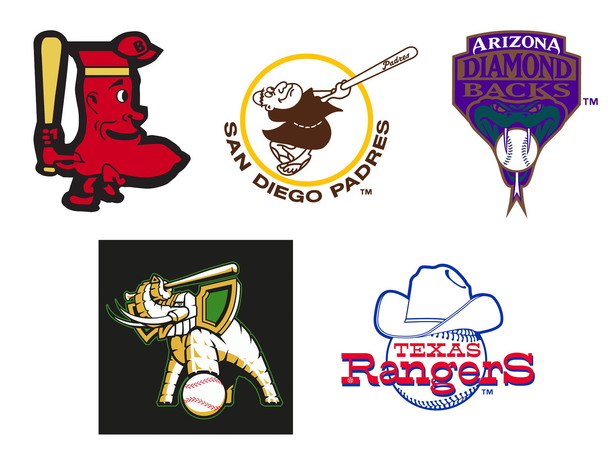 Weird MLB Logos