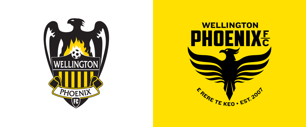 New Logo for Wellington Phoenix FC