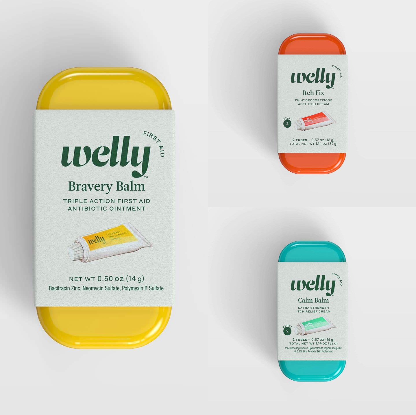 New Logo and Packaging for Welly by Partners&Spade and Prime Studio