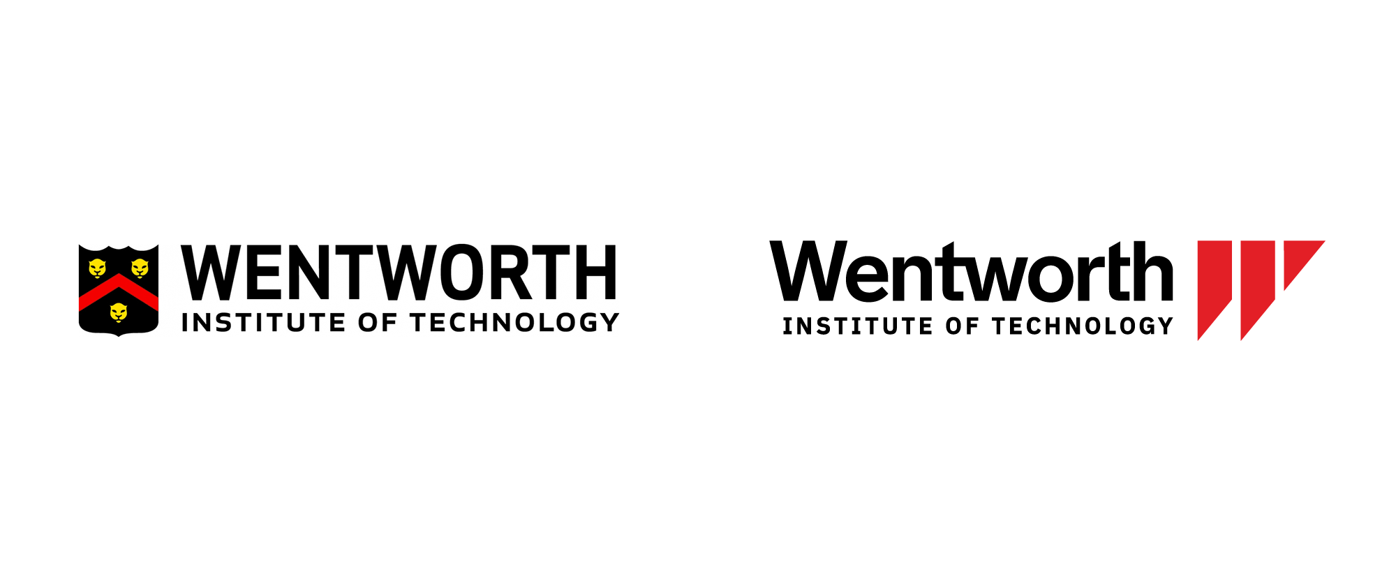 New Logo for Wentworth Institute of Technology by Stoltze Design