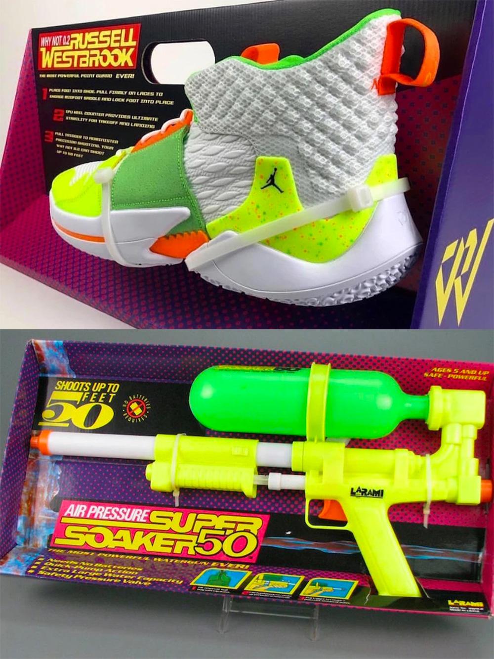 Super Sneaker Soaker