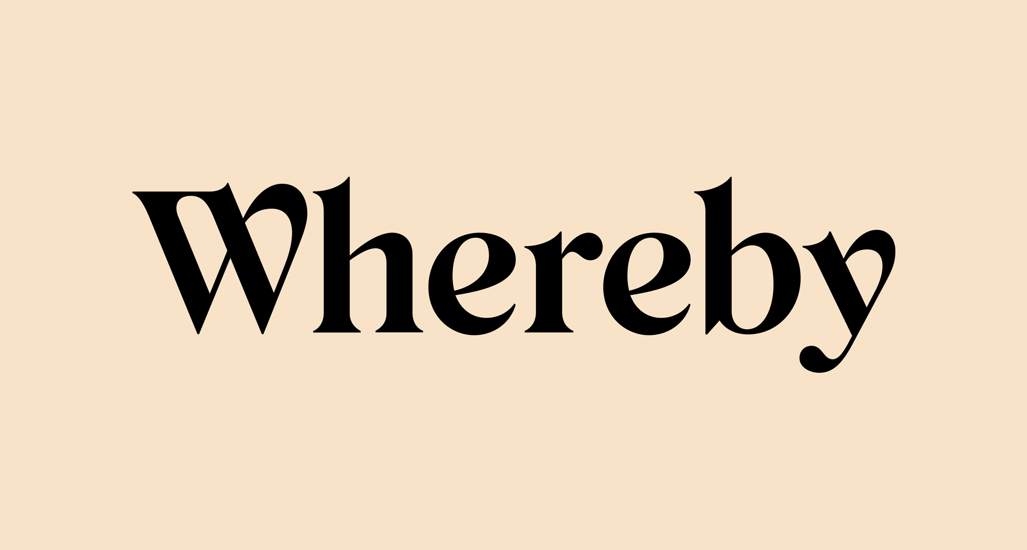 New Logo and Identity for Whereby by Heydays