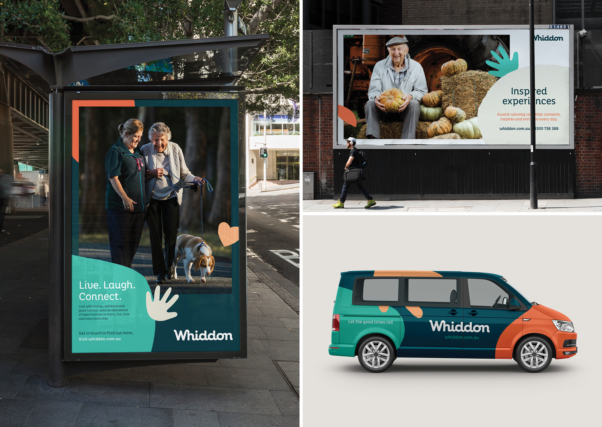 New Logo and Identity for Whiddon by THERE