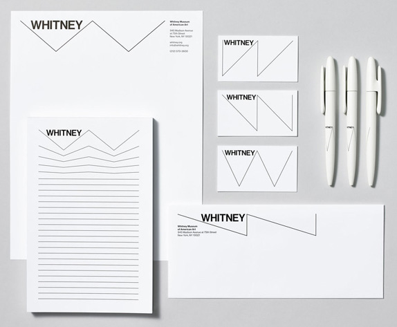 Whitney Logo and Identity