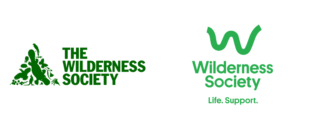 New Logo and Identity for Wilderness Society by Alter