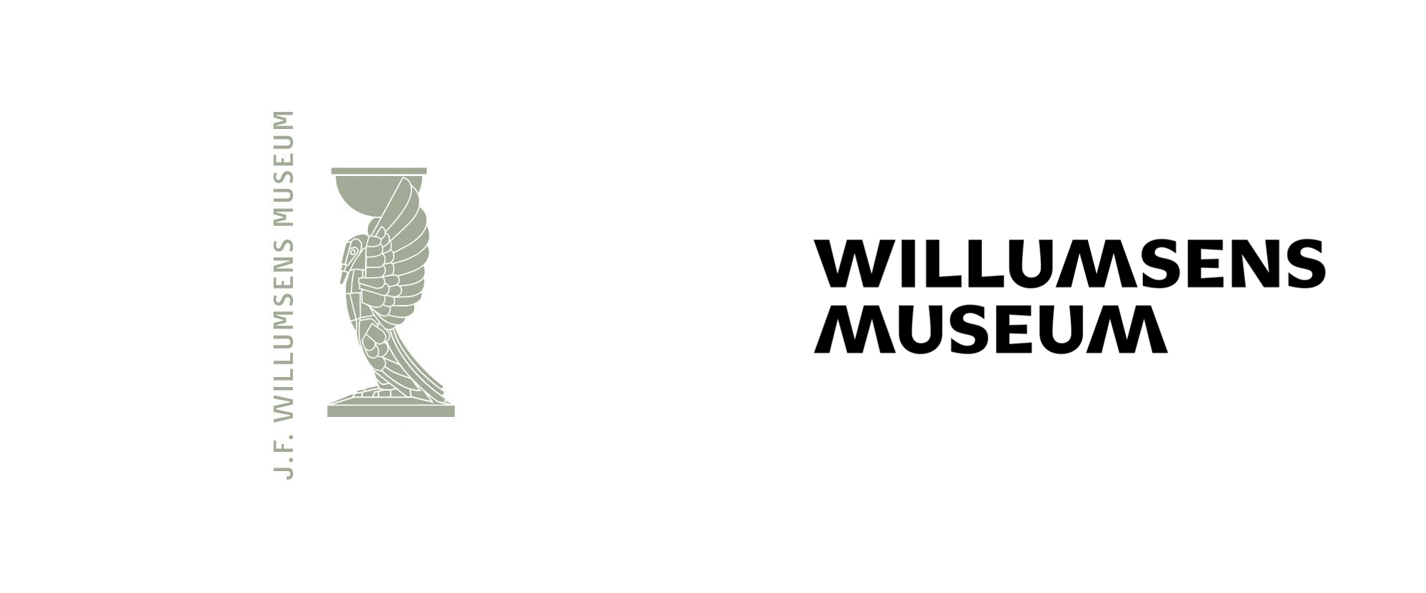New Logo and Identity for Willumsens Museum by IDna Group