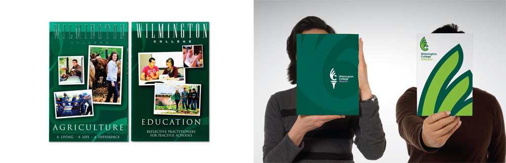 New Logo and Identity for Wilmington College by Landor