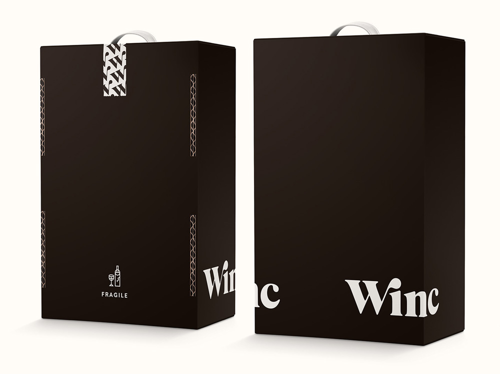 New Name, Logo, and Identity for Winc by Ferroconcrete