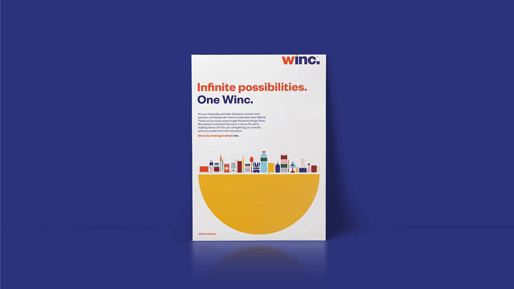 New Name, Logo, and Identity for Winc by Futurebrand