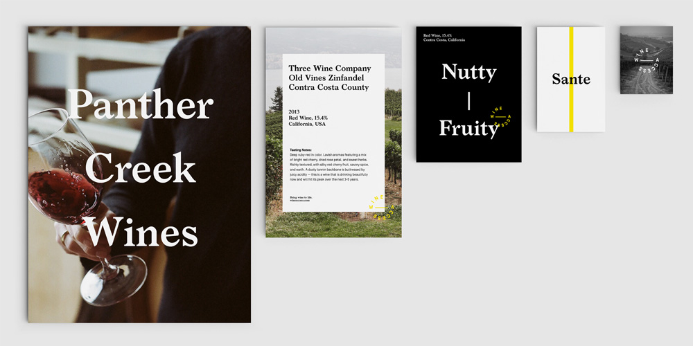 New Logo and Identity for WineAccess by Moving Brands