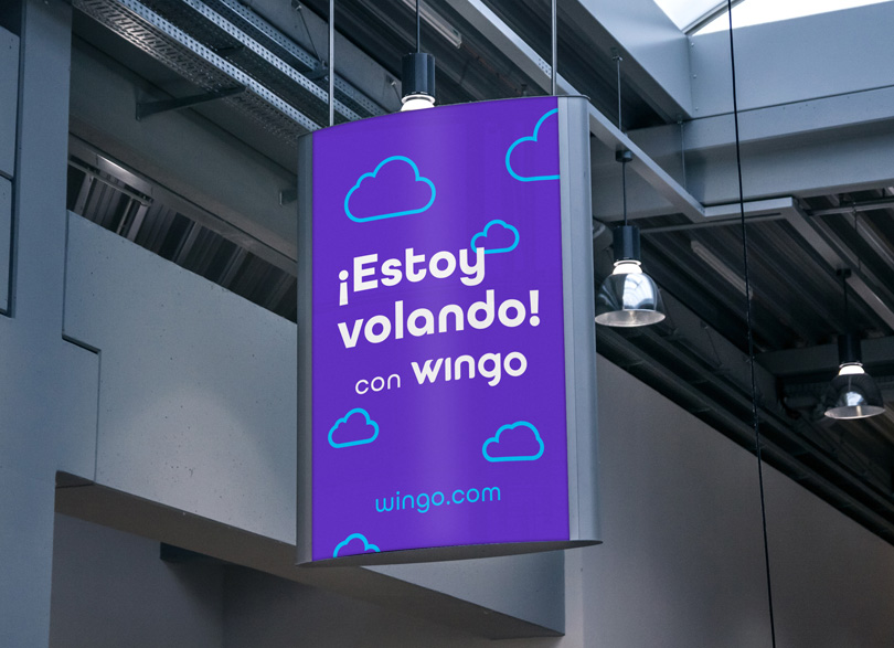 New Logo, Identity, and Livery for Wingo by SmartBrands
