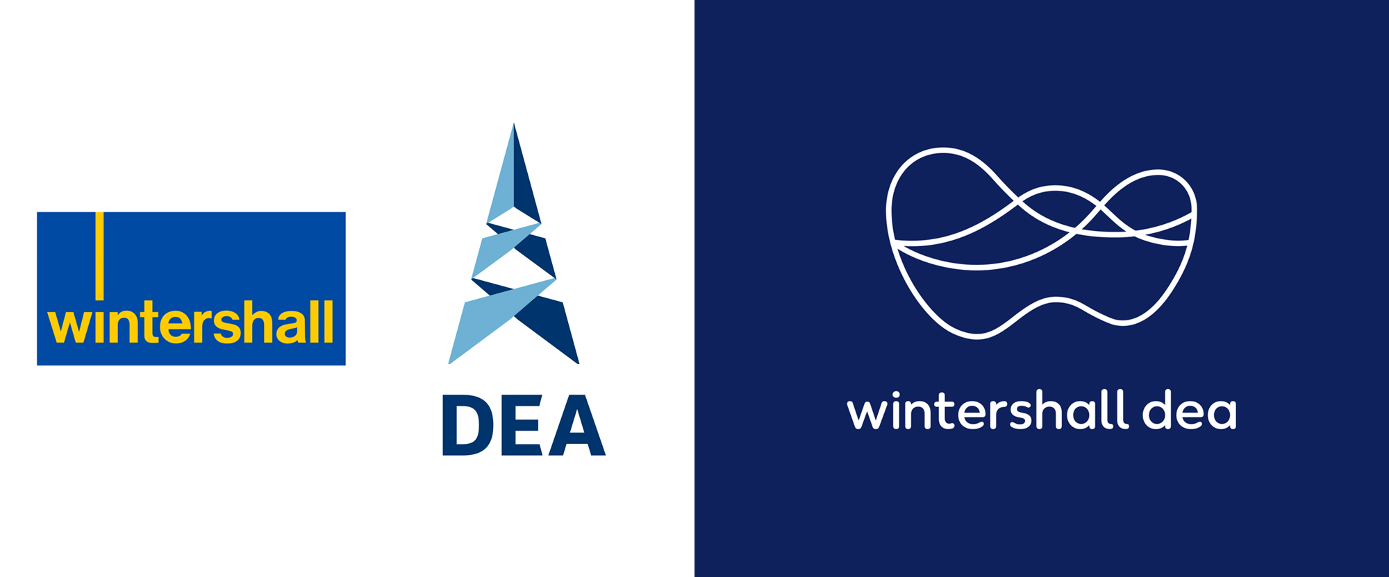 New Logo for Wintershall Dea by Jung von Matt