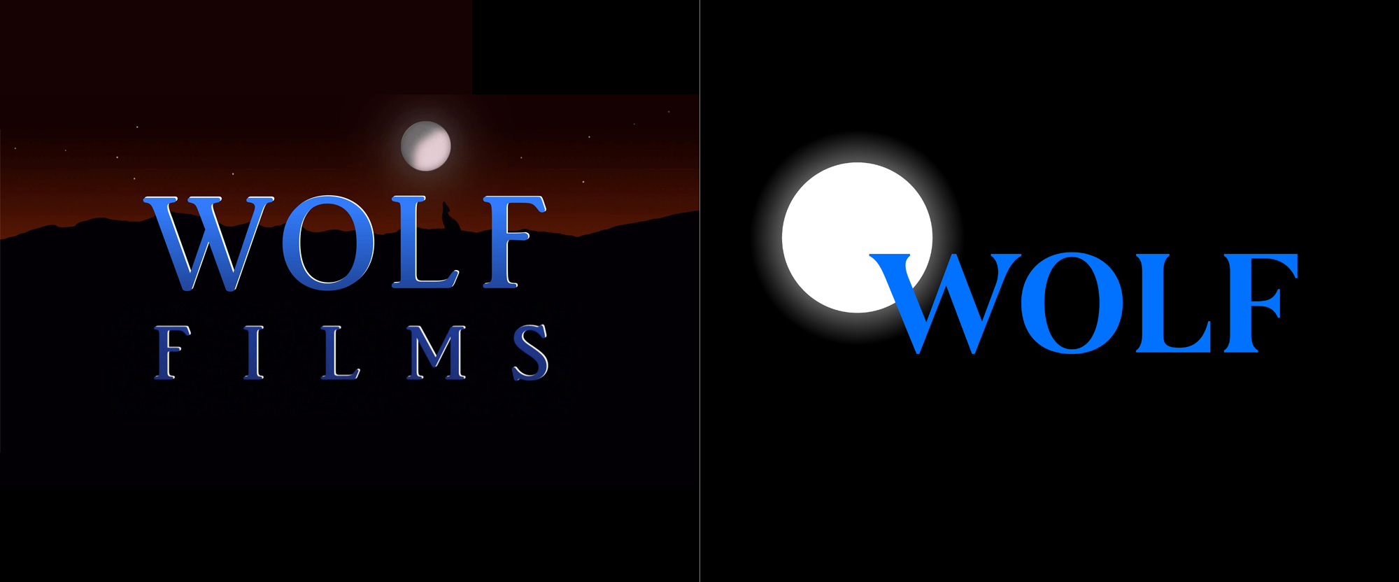 New Logo for Wolf Films by Chermayeff & Geismar & Haviv
