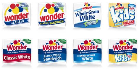 Wonder Bread Packaging, New