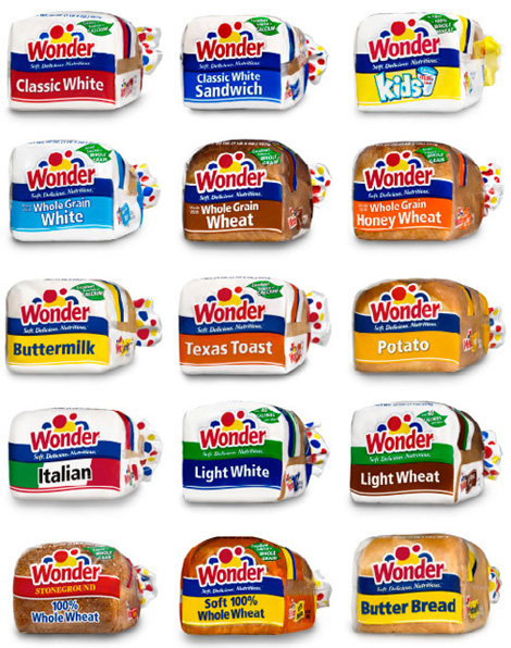 Brand Name Whole Grain Foods