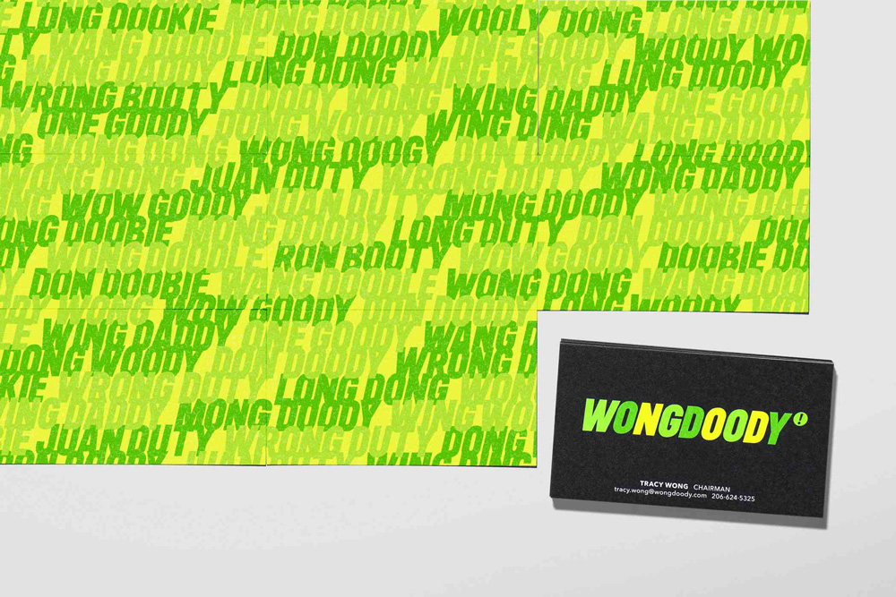 New Logo and Identity for WONGDOODY done In-house