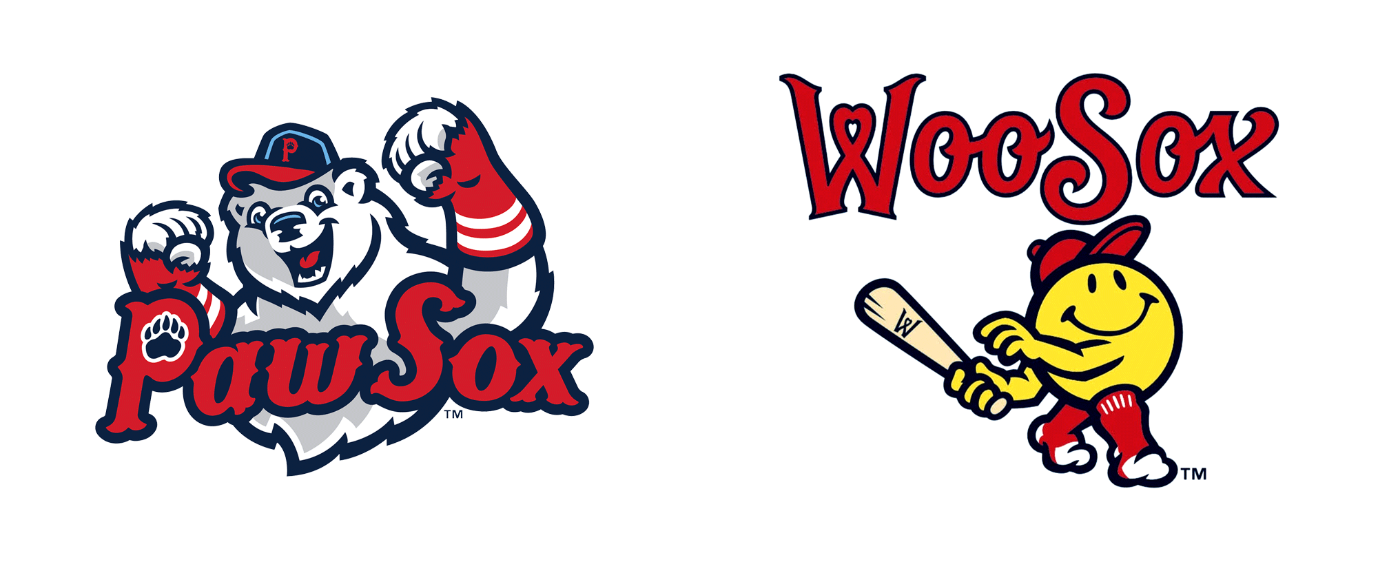 New Logo Name and Logo for Worcester WooSox by Brandiose