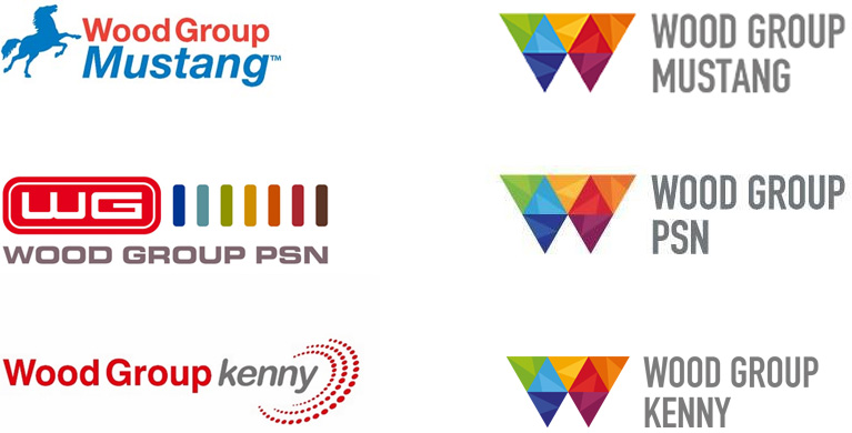 New Logo for Wood Group