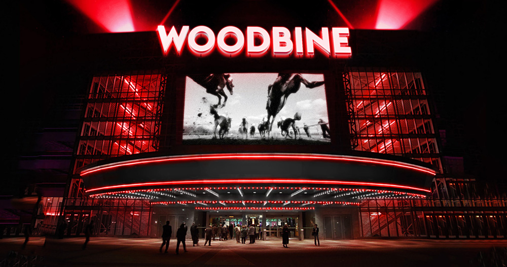New Logo and Identity for Woodbine Entertainment Group by Concrete