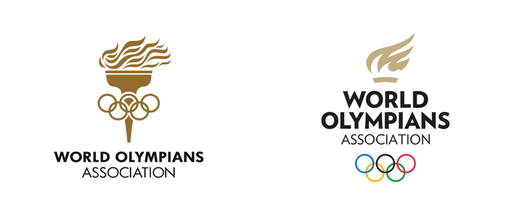 New Logo for World Olympians Association