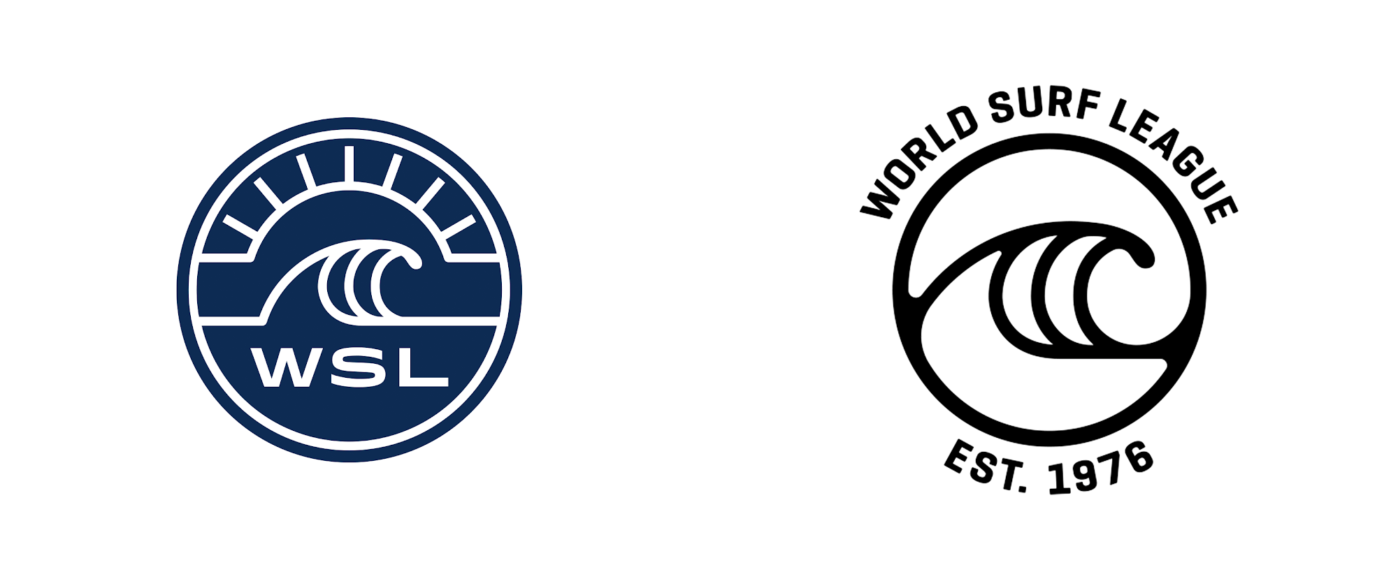 New Logo for World Surf League
