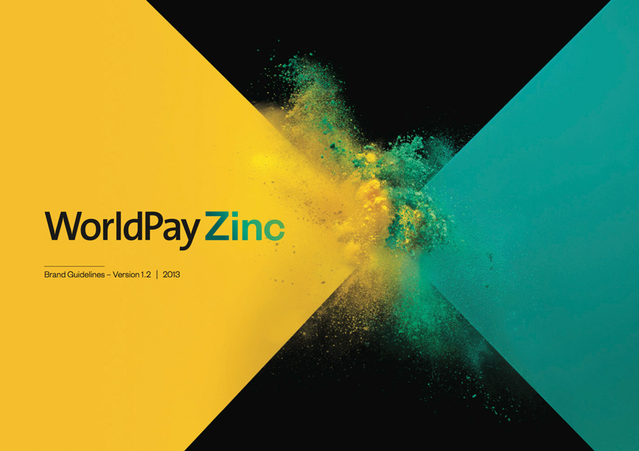 Brand New: New identity for WorldPay Zinc by SomeOne